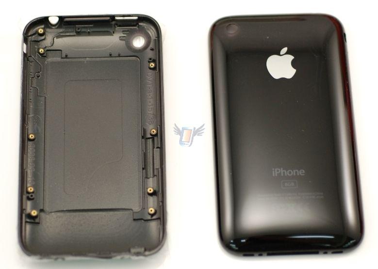 Náhradní zadní kryt pro iPhone 3G, černý
