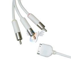 AV kabel pro iPhone 3G, fw 2.2
