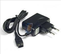 Síťová nabíječka pro Nintendo DS Lite, černá