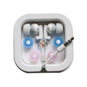 Sluchátka pro MP3 přehrávače, bílá