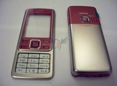 Kompletní housing pro Nokia 6300, červený