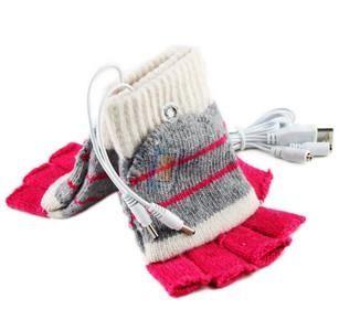 USB vyhřívané rukavice, model 3