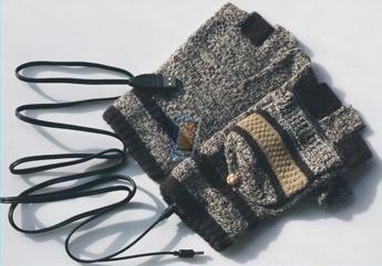 USB vyhřívané rukavice, model 4