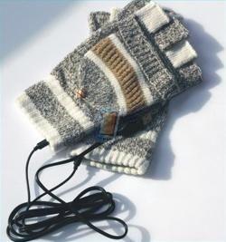 USB vyhřívané rukavice, model 8