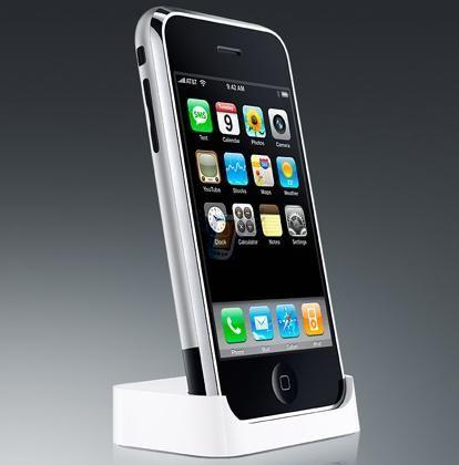 Univerzální dokovací stanice pro iPhone 3G, bílá