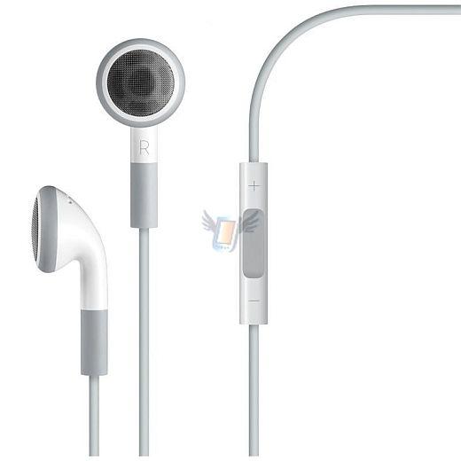 Sluchátka s mikrofonem a ovládáním hlasitosti pro iPhone 4G a 3GS