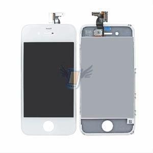 LCD displej s předním dotykovým sklem pro Apple iPhone 4, bílý