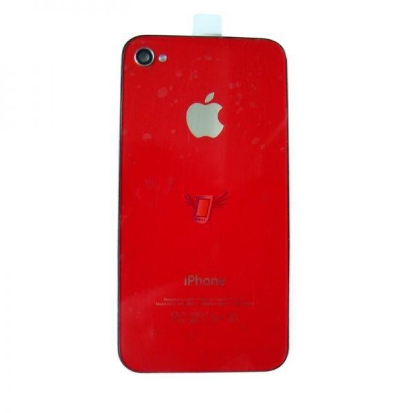 Náhradní zadní kryt pro iPhone 4, červený