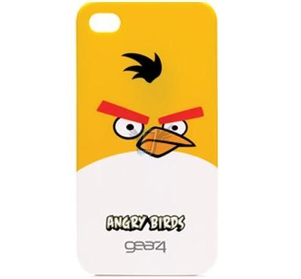 Kryt pro iPhone 4 Angry Birds ( Yellow Bird )