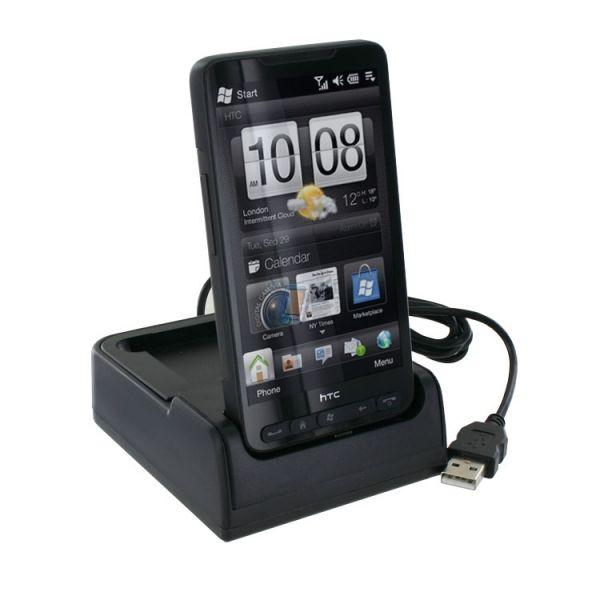 Kolíbka AC USB s nabíjením baterie pro HTC HD2