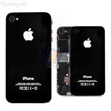 Náhradní zadní kryt pro iPhone 4, černý