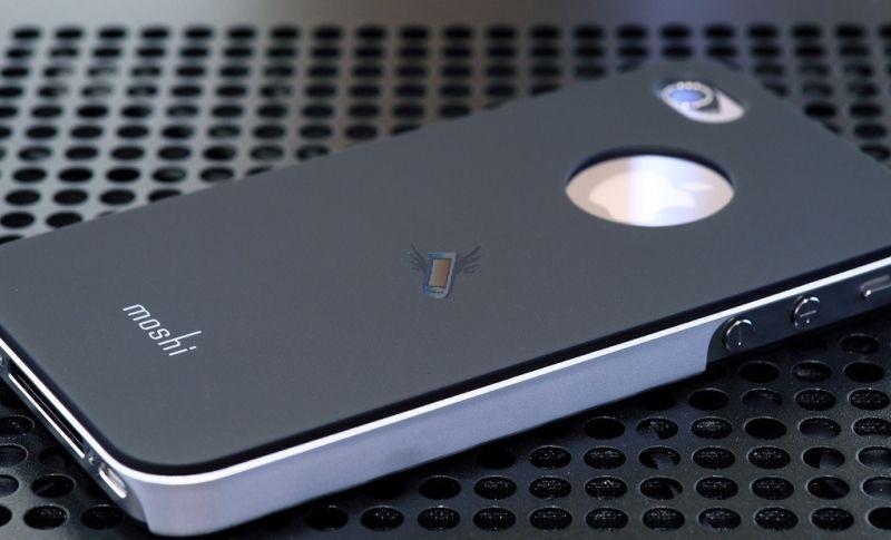 Moshi hardcase pouzdro pro iPhone 4/4S, černé