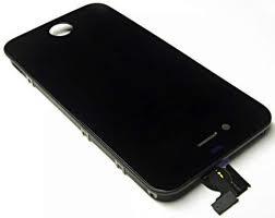 LCD displej s předním dotykovým sklem pro Apple iPhone 4S, černý