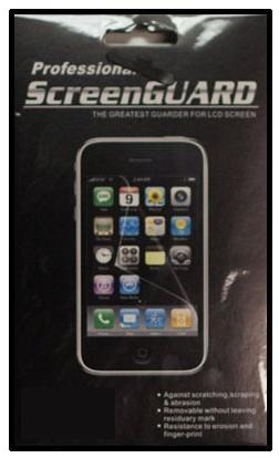 Ochranná fólie Professional ScreenGuard pro HTC Desire Z
