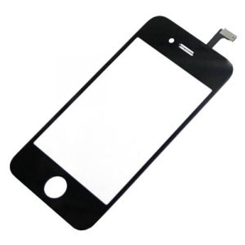 Přední krycí sklo a dotykový panel pro Apple iPhone 4, černý