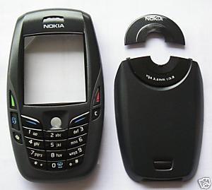 Kompletní housing pro Nokia 6600, černý