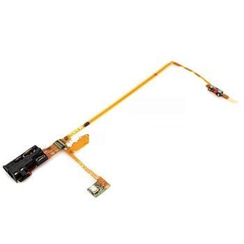 Audio flex kabel s hold tlačítkem pro iPod Nano 5
