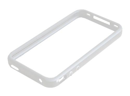 BUMPER pouzdro pro Apple iPhone 4, bílé