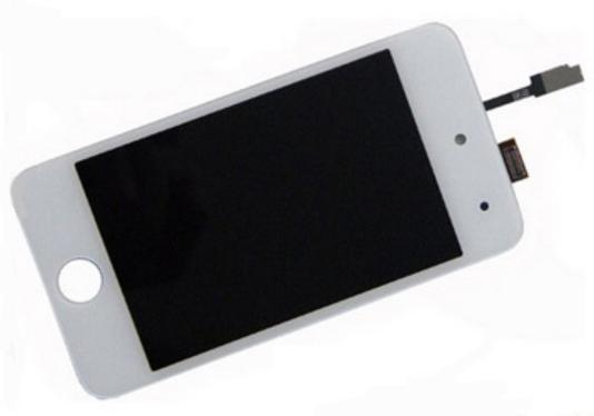 LCD displej s dotykovým sklem pro Apple iPod Touch 4 gen, bílý