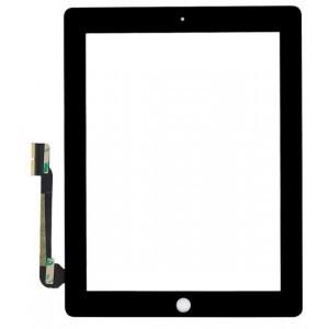Sklo + Touchscreen pro Apple iPad 3, černé