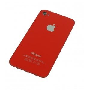 Náhradní zadní kryt pro iPhone 4S, červený