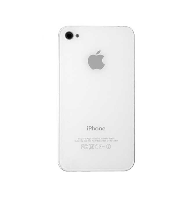 Náhradní zadní kryt pro iPhone 4S, bílý