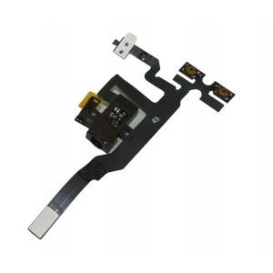 Audio konektor flex pro iPhone 4S, černý