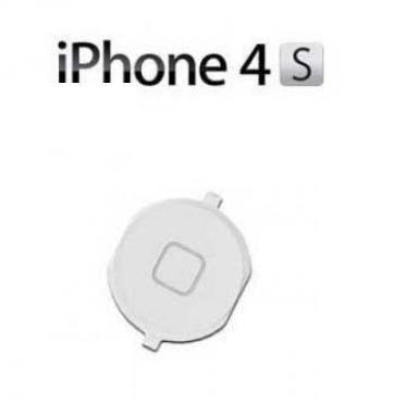 Tlačítko Home Button pro iPhone 4S, bílý