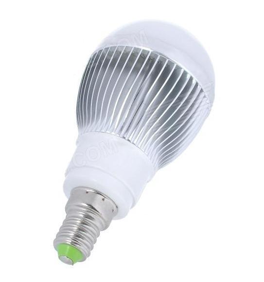LED žárovka 6W, E14, bílé světlo