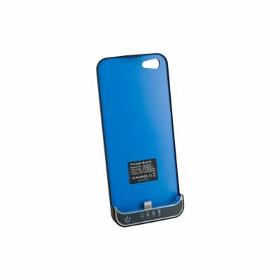 Externí baterie pro iPhone 5, černá, 2200 mAh