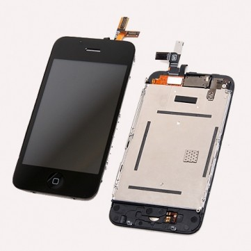 Kompletní přední panel s LCD pro Apple iPhone 3G