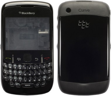 Kompletní housing pro BlackBerry Curve 8520, černý