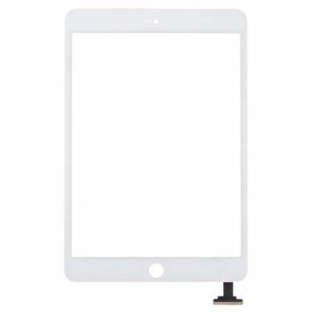 Sklo + Touchscreen pro Apple iPad mini, bílé