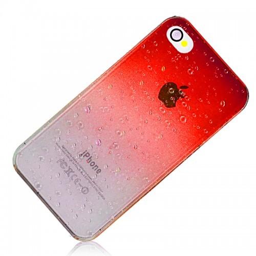 Hardcase Water-drop pouzdro pro iPhone 4