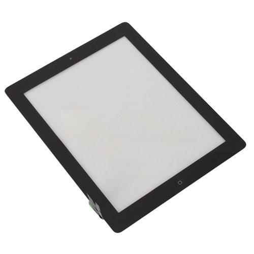 Dotykové sklo pro Apple iPAD 2, včetně Home tlačítka, černé