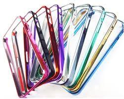 Ochranné pevné pouzdro pro iPhone 4 se zlatým okrajem