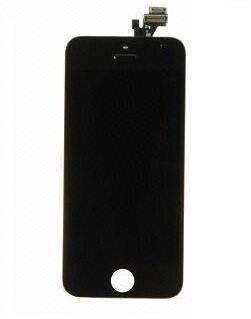 LCD displej s předním dotykovým sklem pro Apple iPhone 5, černý