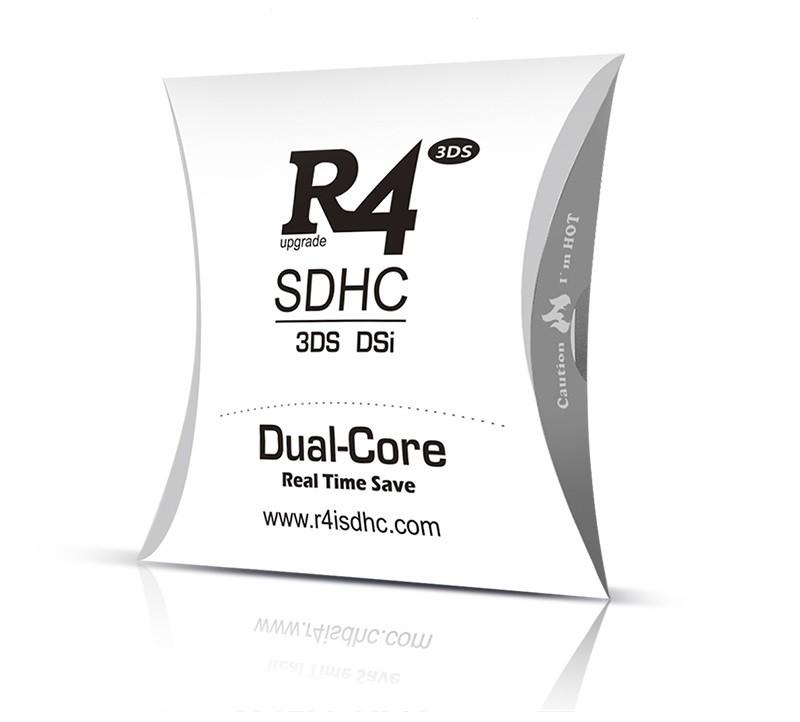 Karta R4i SDHC Dual Core 2017 pro Nintendo 3DS a Nintendo DSi