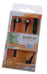 Sluchátka Handsfree ALIGATOR PRO, micro USB