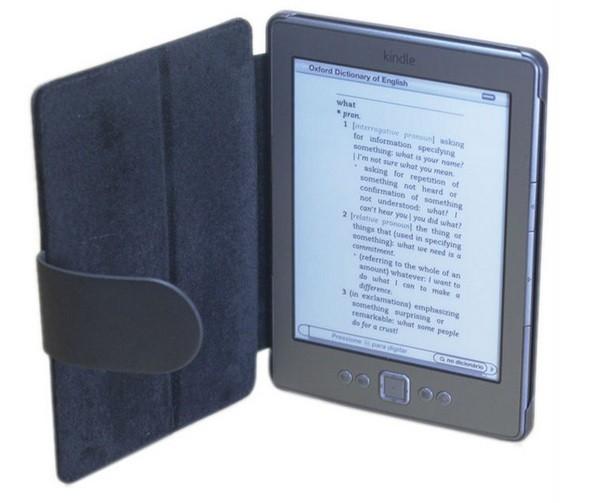 Polyuretanové pouzdro pro Amazon Kindle 4, černé
