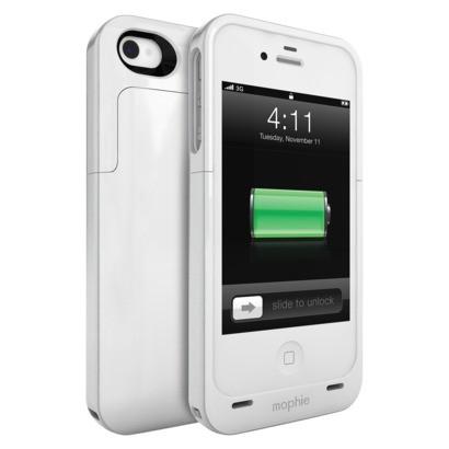 Mophie externí baterie pro iPhone 4, bílá