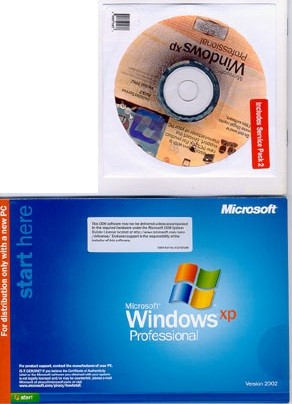 Microsoft Windows XP OEM médium
