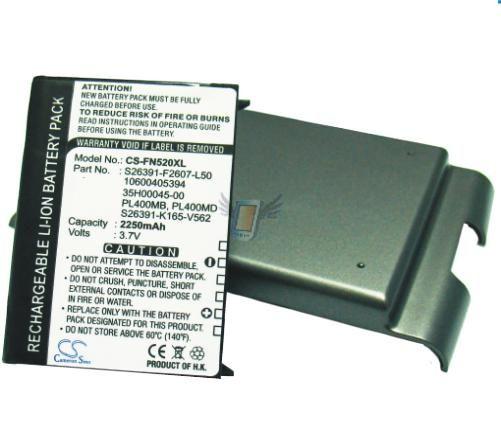 Baterie pro Fujitsu-Siemens Loox N560 Extra