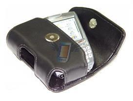 Kožené opaskové pouzdro LeoKing pro Nokia N95