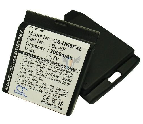 Baterie pro Nokia N95 - 8GB, 2000 mAh