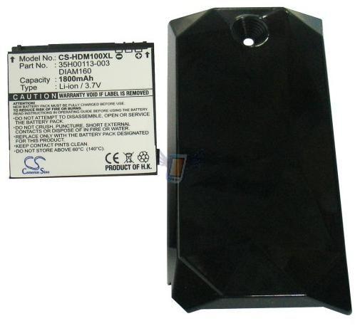 Baterie pro HTC Touch Diamond, 1800 mAh