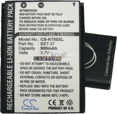 Baterie pro Sony Ericsson W850i, 900 mAh