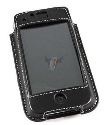 Kožené pouzdro pro iPhone model iFone15 - Černé