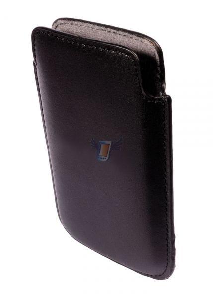 Kožené Ultra Slim pouzdro pro iPhone 3G, černé