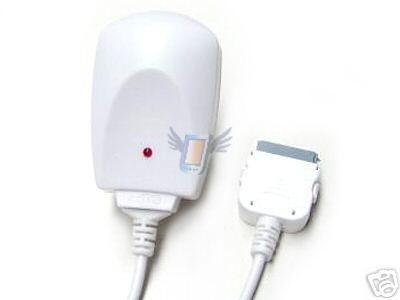 Síťová nabíječka pro iPhone 3G, bílá